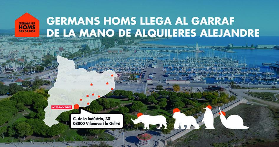 Germans Homs compra una empresa dedicada al lloguer de maquinària per a la construcció, a Vilanova i la Geltrú